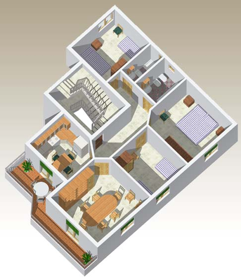 Appartamento c 2 residence corsaro donnalucata for Planimetrie dell appartamento del garage di una camera da letto